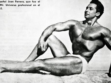 Juan Ferrero, el primer español Mr. Universo
