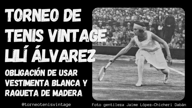 Sesión de tenis vintage con la tenista Leti Costas