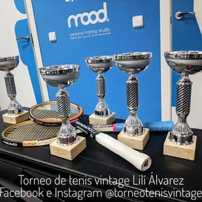 Ya tenemos los trofeos de subcampeones del torneo Lilí Álvarez.