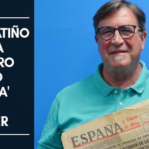 Chema Patiño habla del libro Diario 'España' de Tánger