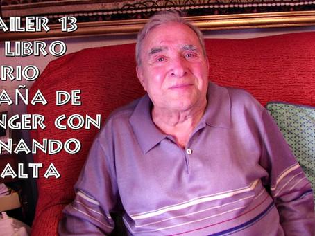 Trailer 13 del libro Diario 'España' de Tánger con Fernando Peralta