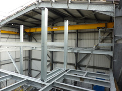 Steel fabrication 12