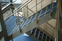 Staircases and canopies