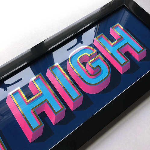 Aim High Original Painting