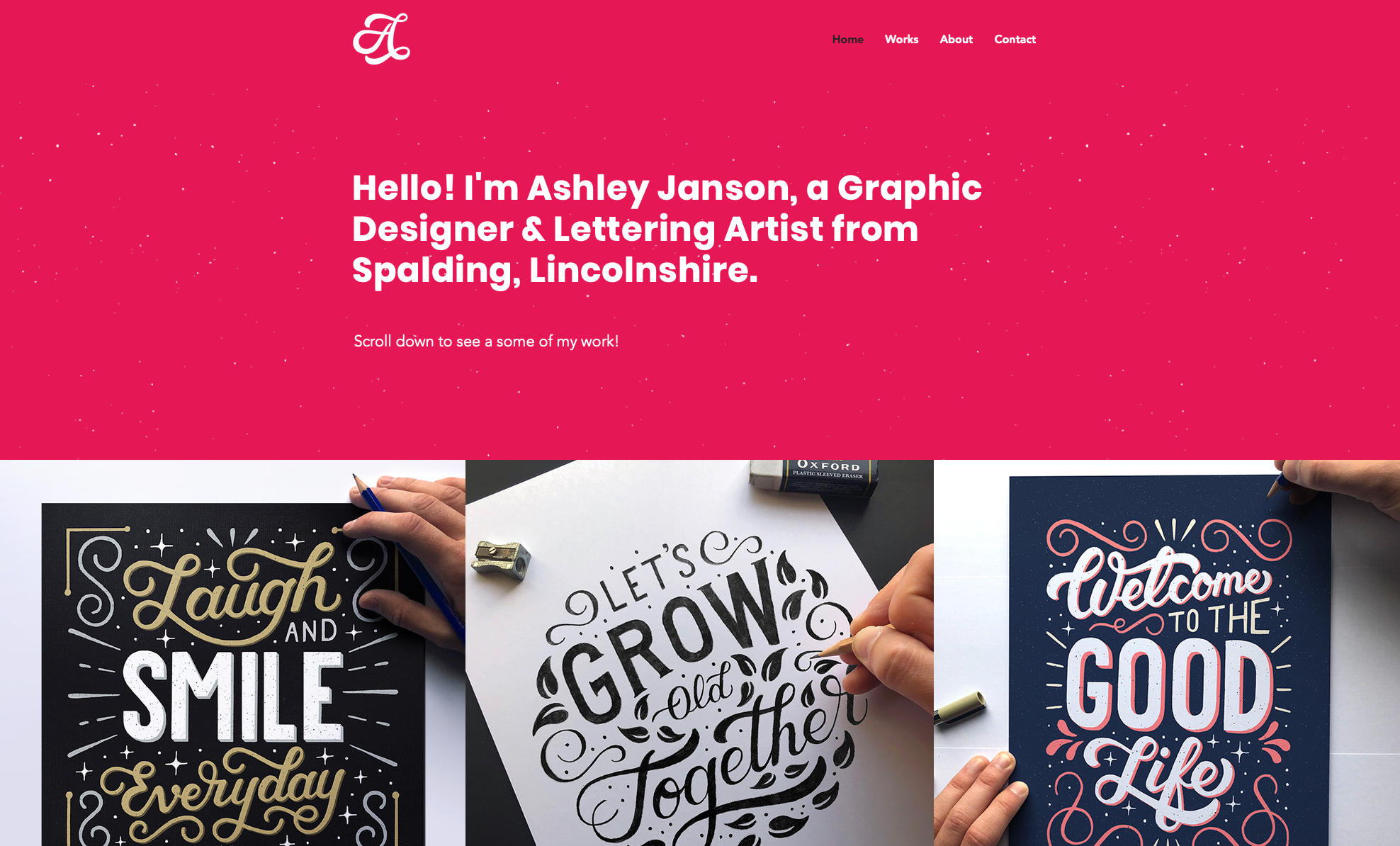 Ashley Janson | Graphic Designer & Lettering Artist