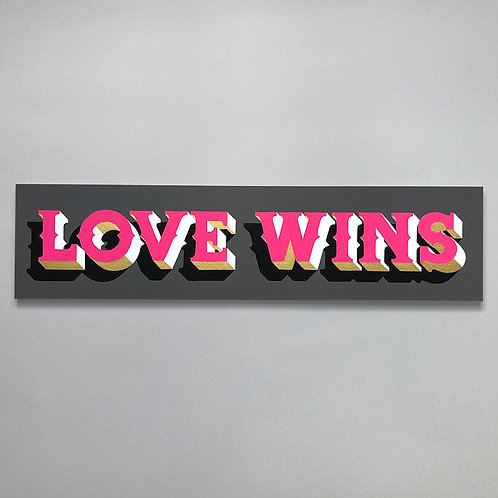 Love Wins Original Painting