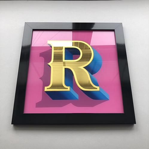 R Original Painting