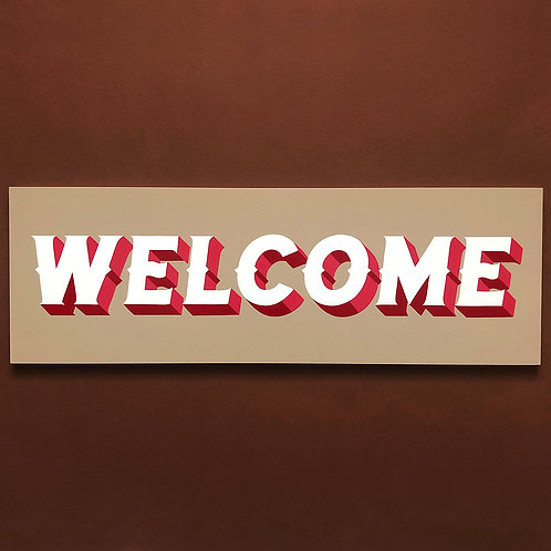 Welcome Original Painting