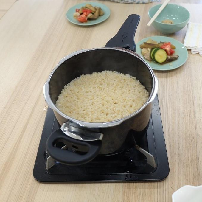 玄米ご飯の炊き方