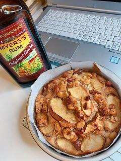 りんごのケーキオンラインレッスン開催しました!