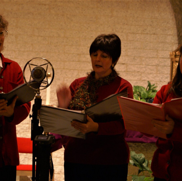 Trio at the annual Christmas Concert