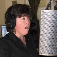 Elizabeth in the Studio