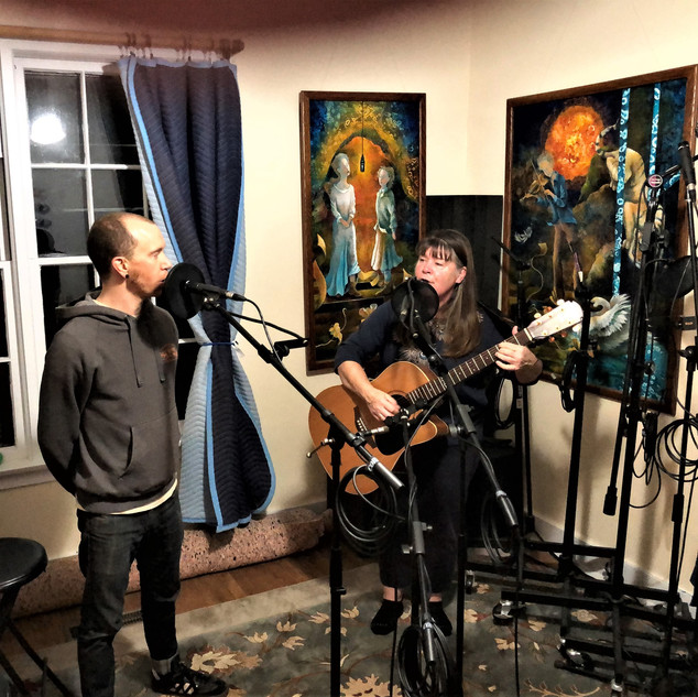 Elizabeth and Taylor Berryhill recording