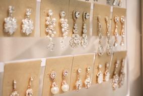 Bridal Earrings at Bella Veil