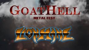 GOATHELL METAL FEST | LIONMANE ANNOUNCED | CMM PROMOTING THE FESTIVAL