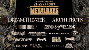 METALDAYS 2019 | NEW ANNOUNCEMENTS | ARCHITECTS, SATURNUS, HOUR OF PENANCE, LUCIFER, UNE MISÈRE, KAI