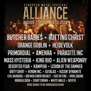 EUROPEAN METAL FESTIVAL ALLIANCE | LINE UP ANNOUNCEMENT