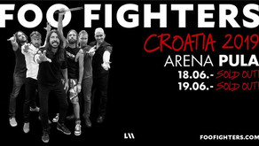 FOO FIGHTERS | ARENA PULA | 2ND CONCERT SOLD OUT