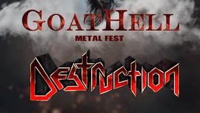 GOATHELL METAL FEST | NEW NAMES ANNOUNCED | EVIL BLOOD, ARCHAIC, DESTRUCTION, SKYEYE BAND