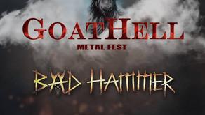 GOATHELL METAL FEST 2019  | BAD HAMMER, INNERSPHERE, NETHER