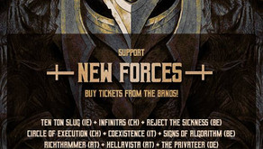 METALDAYS | LESS THAN 30% OF TICKETS ON SALE | NEW FORCES
