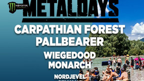 METALDAYS 2018 FINAL LINE UP