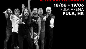 FOO FIGHTERS | FRANK CARTER & THE RATTLESNAKES AS SUPPORT BAND IN PULA, CROATIA
