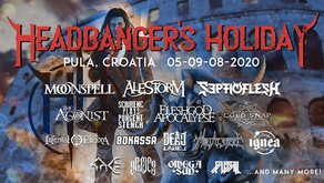 HEADBANGER'S HOLIDAY 2020 | NEW NAMES ADDED TO THE LINE UP