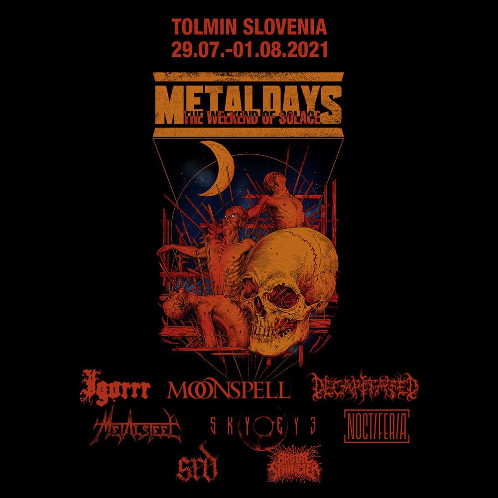 Tolmin metal days MetalDays headliners: