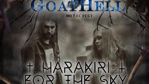 GOATHELL METAL FEST 2020 | FIRST ANNOUNCEMENT | HARAKIRI FOR THE SKY