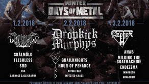 LESS THAN A WEEK TO WINTER DAYS OF METAL | RUNNING ORDER