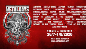 METALDAYS 2020 | AS I LAY DYING, CLUTCH, JINJER, ORBIT CULTURE, ROME (JEROME REUTER), VOICES