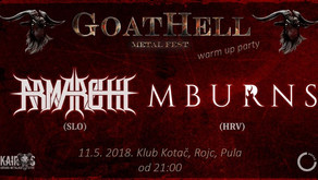 GOATHELL METAL FEST | WARM UP PARTY | PULA