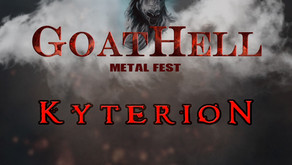 GOATHELL METAL FEST  | NEW ANNOUNCEMENTS | KYTERION, FEELAMENT, EVEN FLOW