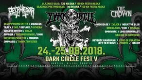 DARK CIRCLE FEST | HARTERA, RIJEKA, 24/25 AUGUST | NEW ANNOUNCEMENT