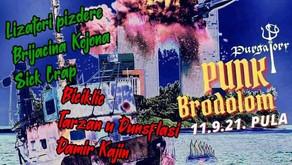 PUNK BRODOLOM | PULA