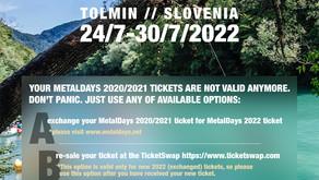 METALDAYS 2021 & 2022 - all the updates