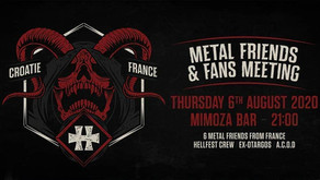 METAL FRIENDS & FANS MEETING | MIMOZA, PULA