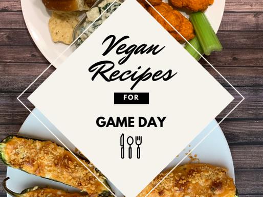 Game Day Vegan Dishes