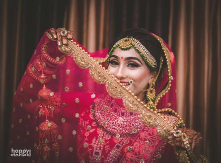 Beauty behind the Aanchal