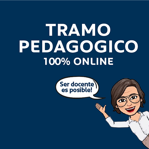 Tramo Pedagógico 100% Online (valor de las cuotas)