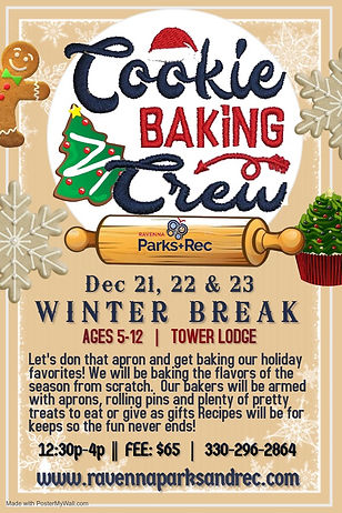 Cookie Baking Crew - Made with PosterMyW