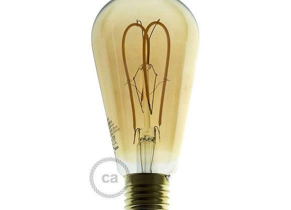 Ampoule dorée Led Edison E27