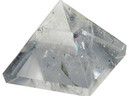 Pyramide Cristal de roche 3cm