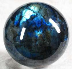 Sphère labradorite