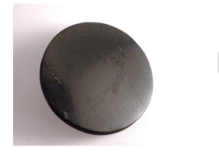 pastille shungite ronde adhésif pour ordinateur ou tablette