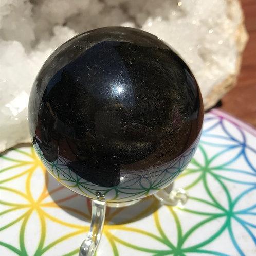 Sphère Obsidienne Oeil Céleste 6cm