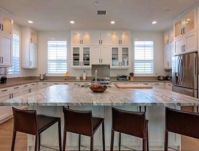 stone countertop kitchen remodel ideas