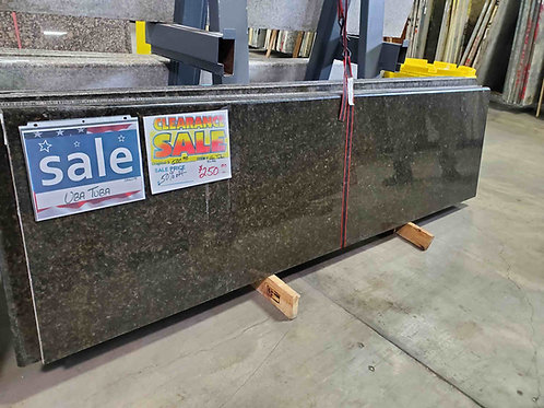 Baltic Brown Granite Pre-Fabricated - Bullnose
