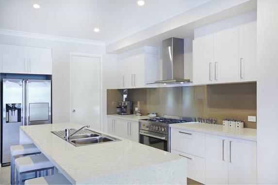 Pental Aqua White Denver white kitchen remodel ideas